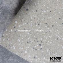 Facilité de nettoyage Surface solide Mur de pierre