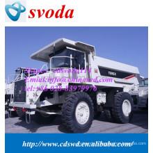 La Chine fournissent des camions à benne basculante d'extraction de terex TR50 à vendre