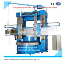 Le prix de la tourtte verticale à double colonne conventionnelle offert par la fabrication de la machine à tour vertical