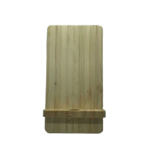 Eco-Friendly Bamboo Wireless Phone Charging Station  10W Wireless Charger Stand  Wood Bamboo Wireless Charger
