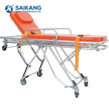 SKB039 (F) Chariot de civière d'alliage d'aluminium d'ambulance à vendre