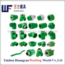 taizhou mould manufacturer for PPR/PVC/PP pipe fitting mould making