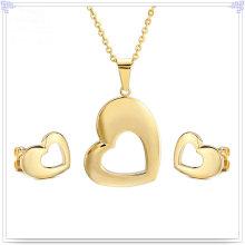 Accessoires de mode Ensemble de bijoux en bijoux en acier inoxydable (JS0202)
