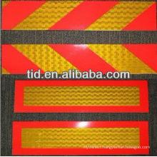 Rear marking plates