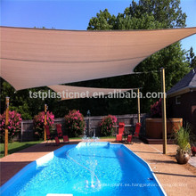 Vela de sombra para sol HDPE + UV estabilizada