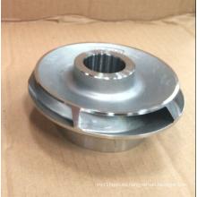 Impulsor de la bomba de agua de acero inoxidable / acero al carbono / hierro fundido