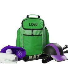 Baseball T-Ball Softball Equipment Backpack Baseball Bag with Fence Hook for Players