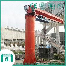 Grue à flèche montée sur pilier Bz 5t avec pivotement à 360 degrés