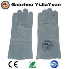 Gants de protection en cuir à la main