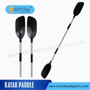 Remo Kayak aluminio, paleta de kayak de fibra de vidrio