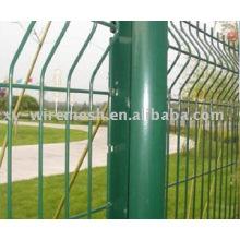 Clôture de protection de sécurité (revêtue de PVC et galvanisé)