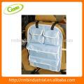 Multi-funcional coche asiento trasero bolsa / organizador; Almacenaje colgante de la parte posterior del asiento con el sostenedor CD