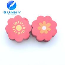 Flower Shaped 2D Eraser para escolares