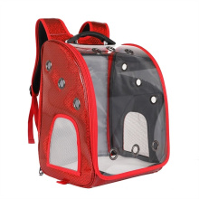 Large Portable Take-out Shoulder Cat Bag Summer Outing Pet Full Transparent Space Capsule Pet Backpack