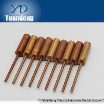 Электроэрозионная обработка Используется электропроводящий медный электрод