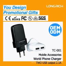 CE, ROHS одобрили новые корпоративные подарочные товары, ODM / OEM быстро доставляют адаптер ouk / us / aus / eu plug
