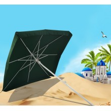 Top for Windproof Beach Umbrella Outdoor Square Patio Beach Umbrella with Crank supply to Uganda Exporter