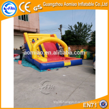 Cheap inflatable water slides clearance, PVC inflatable slide for pool