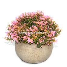 2017 de alta qualidade linda mini fazer Artificial pequenas plantas em vaso
