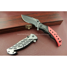 Cuchillo que acampa de la manija del alu (SE-2230)