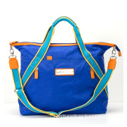 Welcome Ladies Washed Fabric Large Leisure Bag / Travel Bag (WL-3)