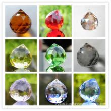 Bunte Kristallkugel 40mm für Kronleuchter & Pendelleuchten