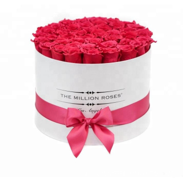 Luxury+Paper+Tube+Flower+Packaging+With+Ribbons