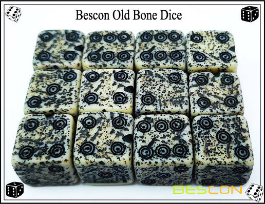 Bescon Old Bone Dice-5