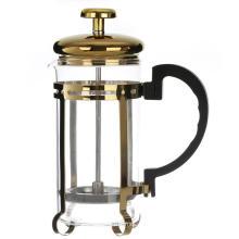 Hitzebeständiges Glas französische Presse Kaffeemaschine