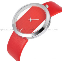 OEM Fashion Leisure Simple Wrist Quartz Watch with Colorful Bracelet