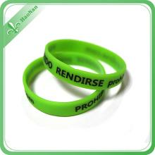 Hot Sale Wholesale Cheap Wristband Custom Printed Silicone Bracelets