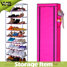 Shoe Organizer Design Folding Fabric Shoe Cabinet