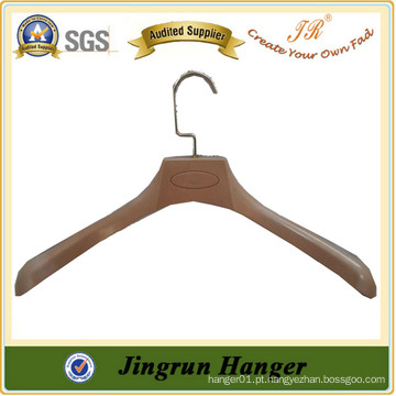 New Popular Wood Plastic Hanger Quality Promotional Suit Hanger