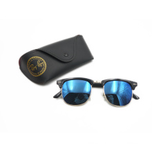 High Quality Club Master Style Unisex Metal Sunglasses (F14083)