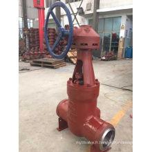 Vanne de porte haute pression de la centrale électrique (DN73 100V)