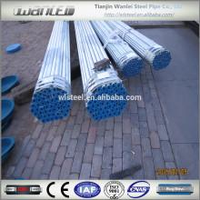 Технические характеристики труб из оцинкованной стали