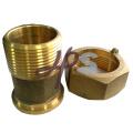 encaixe de bronze do medidor de água forjada para o jato único ou o multi medidor do jato