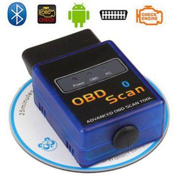 HH расширенные V2.1 автомобиль машина сканера Elm327 Bluetooth Auto OBD2 диагностический инструмент для Android и Windows