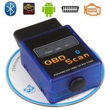 OEM Elm327 Bluetooth adaptador OBD2 Scanner OBD2 interfaz Elm327 soporta todos Obdii protocolos Auto herramienta de diagnóstico OBD2 para Android y Windows