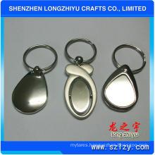 Custom Portable Keychain Wholesale Blank Metal Keychain