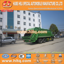 DONGFENG 6x4 16/20 m3 heavy duty refuse collect truck diesel engine 210hp with pressing mechanism