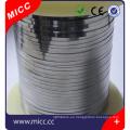 alambre plano brillante recocido brillante alambre de elemento de calefacción redondo