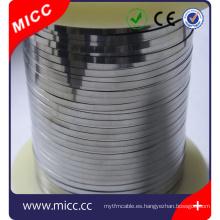 Banda o cinta de alambre de resistencia eléctrica MICC