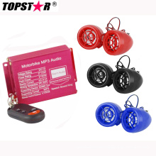 Wireless Alarm System Motorcycle MP3 Audio