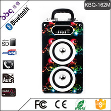 BBQ KBQ-162M 20W 2000mAh Bluetooth Wooden Speaker Cabinets
