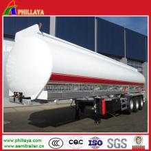 Remorque de camion de réservoir d'huile de pétrolier de 20-70m3