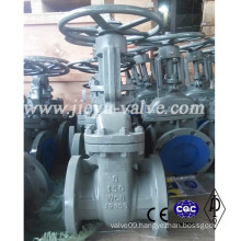Class 150lb 6inch Carbon Steel Wcb Gate Valve