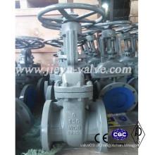 Classe 150lb 6inch aço carbono Wcb válvula de portão