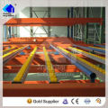 Jracking metal storage roller moving line fifo gravity rack