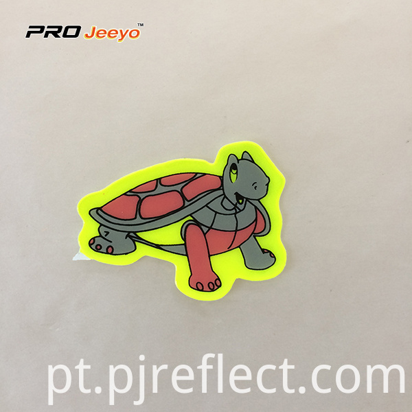 Reflective Adhesive Pvc Turtle Shape Stickers For Children Rs Dw007